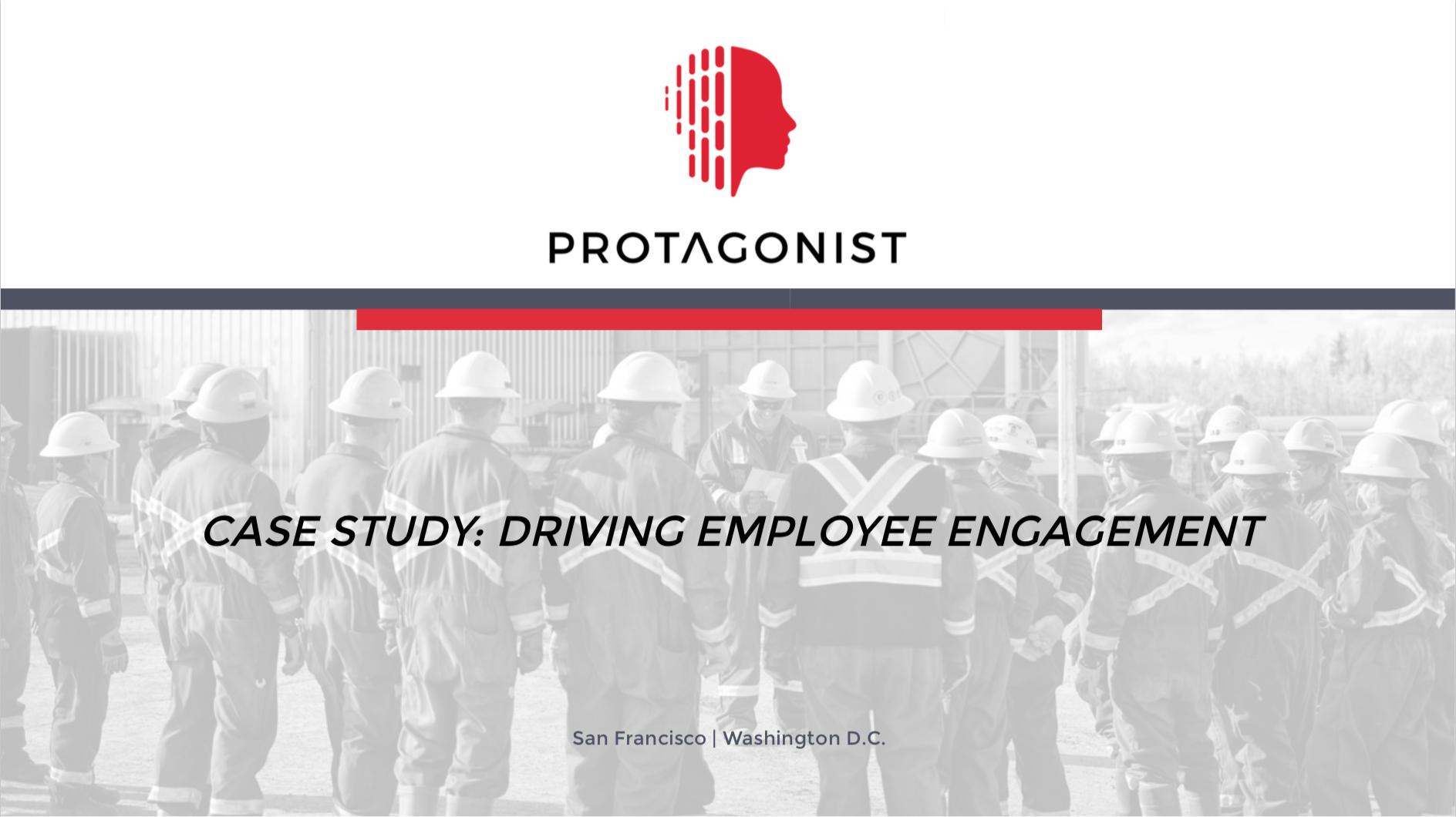 Case Study – Employee Engagement: Energy